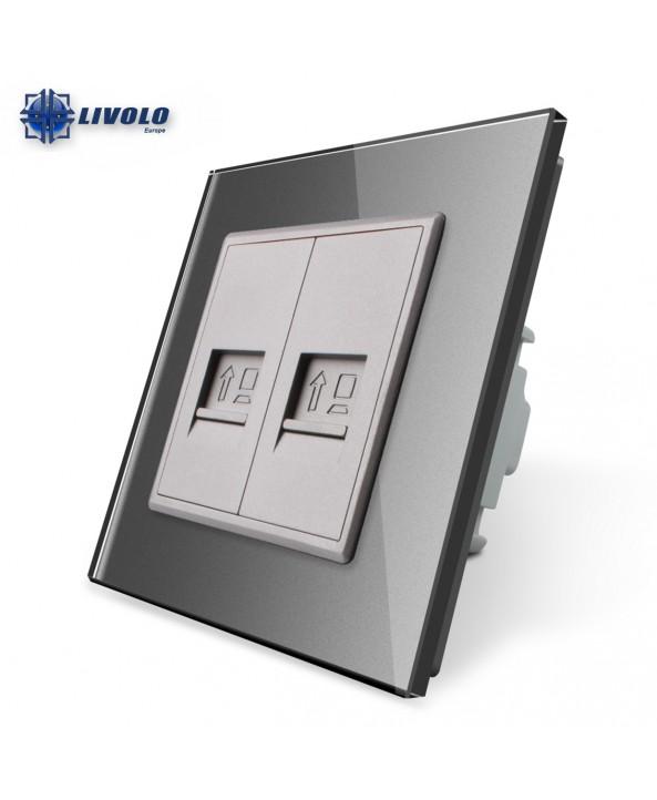 Double Computer LAN - Socket