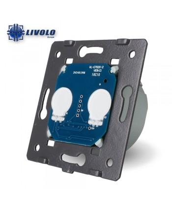 Livolo 2 Gangs - 1 Way - Module