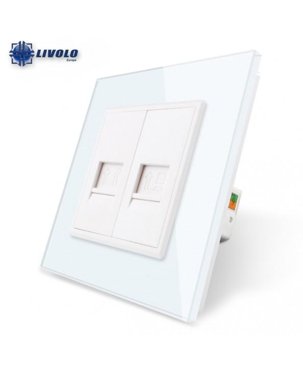 Double COM / TEL - Socket