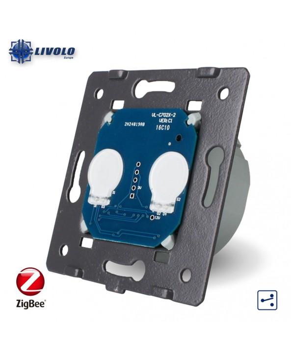 Livolo Zigbee 2 Gang - 2 Ways - Module
